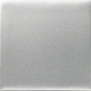 Wippe kallysto mit geschlossender Oberfläche für Schalter/Taster silber