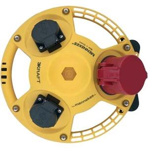3KRAFT Steckdosen-Kombination IP44