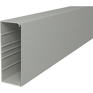 Leitungsführungskanal mit Bodenlochung 80x210 mm cremeweiß
