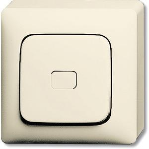 Aufputz Wipptaster Bodenplatte Wippe offen für Symbol