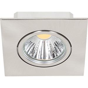 LED Einbaustrahler A 5068Q T Flat nickel-gebürstet 8W neutralweiß 38°