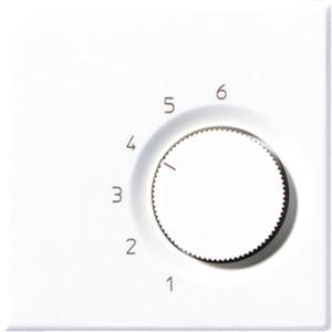Raumtemperaturregler mit Wechselkontakt 24 V AC alpinweiß