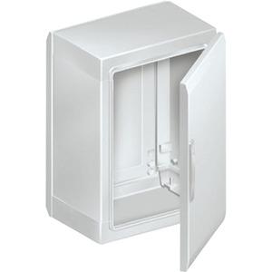 Gehäuse Polyester 2 Türen 1250X1250X320mm RAL7035