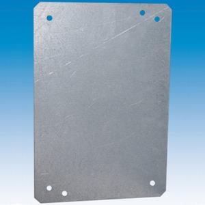 Montageplatte Stahl feuerverzinkt 380 x 480 x 2 mm