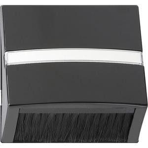 Adapterrahmen Klapphaube für S-Color schwarz
