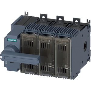 Lasttrennschalter mit Sicherung 160A BG 2 - 3p für NH-Sich. Gr. 000/00