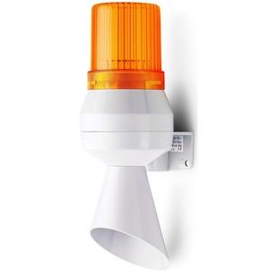 Kleinhupe mit Trichter und Blitzleuchte orange 230 V AC 50 Hz