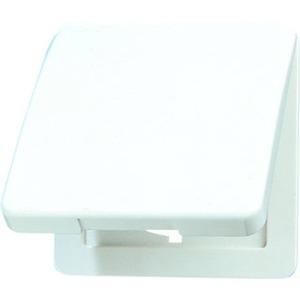 Klappdeckel für Steckdosen und Geräte mit Abdeckung 50 x 50 mm
