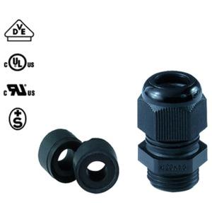 Kabelverschraubung PERFECT 50.620 PA/RSW M20x1,5 RAL9005 schwarz