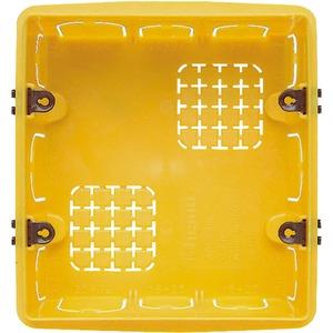 Unterputzdose für 3+3 Module für Lautsprecher