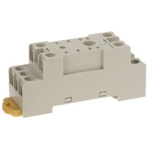 Sockel für DIN-Schienen-Montage/Oberflächenmontage 8-polig