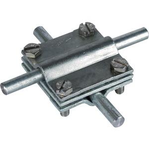 Dehn Kreuzstück St/tZn Rd./Rd. 8-10/8-10 mm Rd./Fl. 8-10/30 mm