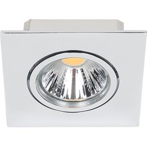 LED Einbaustrahler A 5068Q T Flat chrom 8W neutralweiß 38°