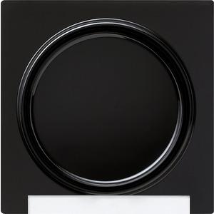 Abdeckung und Wippe mit Beschriftungsfeld für S-Color schwarz