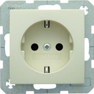 SCHUKO-Steckdose S.1 - weiß/ glänzend