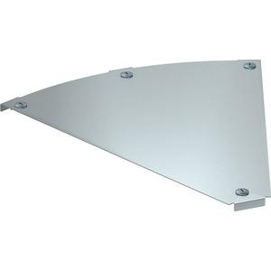 Deckel für 45° Bogen Magic horizontal Stahl bandverzinkt 500 mm