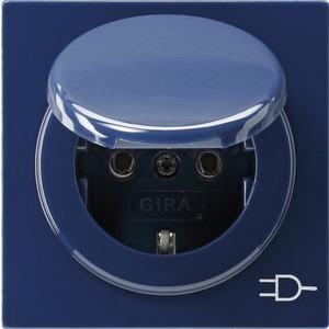 SCHUKO-Steckdose KD für S-Color blau