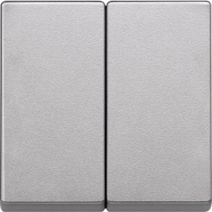 Wippe für Serienschalter aluminium
