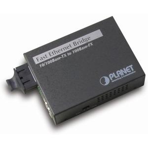 Fiberoptik-Bridge-Konverter FT-802 100 Mbps 10/100Base-TX (RJ45)