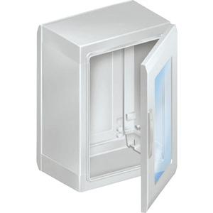 Gehäuse 1 Tür Polyester 1000x750x320mm IP65 RAL7035