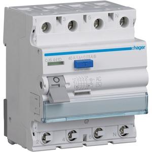 Fehlerstrom-Schutzschalter 4-polig 40 A 30 mA Typ G/AC