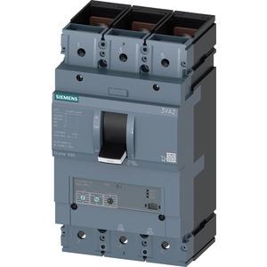 Leistungsschalter 3VA2 Icu=55kA 3-polig LSI In=500A Ir=200A-500A