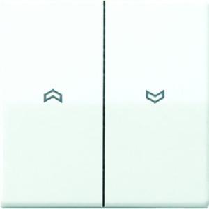 Jung Wippe Symbole Pfeile Zentralplatte für Jalousie-Wippschalter BA 2-fach