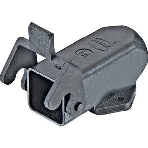 Sockelgehäuse 3 A Han A 1x M20 Niedrige Bauform Querbügel