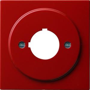 Gira Abdeckung mit Tragring Geräte mit 22,5 mm für S-Color rot