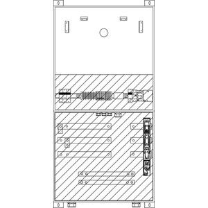 Wandlermessfelder Innenraum 720x1400x225 mm