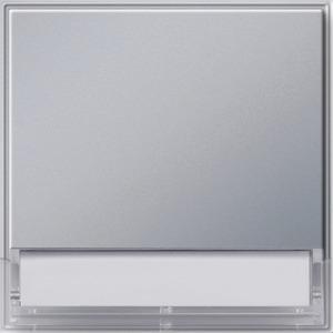 Wippe beschriftbar groß TX 44 (WG UP) Farbe Aluminium