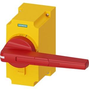 Zubehör für 3KF Baugr. 5 Direktantrieb rot / gelb abschließbar