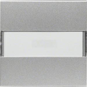 Wippe kallysto mit Kontrollfenster und Beschriftungsfeld Silber