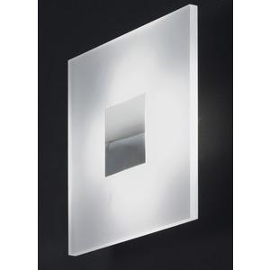Decken/Wandleuchte LED 6W 460 3000K chrom