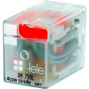 Tele Haase Miniaturrelais 4 Wechsler 24 V DC