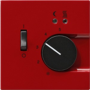 Gira RTR 230V mit Sensor Fußbodenheizung für S-Color rot