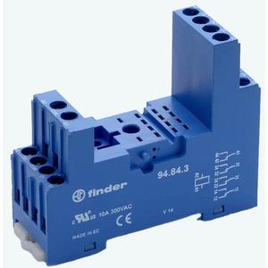 Relaisfassung Schraubklemmen Timer- Relaistyp 85.02/04 blau Serie 94