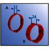 Putzausgleich-Ring Ø 70 mm h=12 mm Schraubabstand 67 mm mit Geräteschrauben