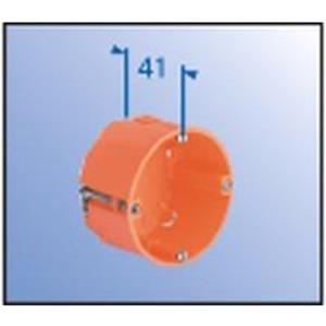 Hohlwand Gerätedose für dünne Beplankung mit Geräteschrauben