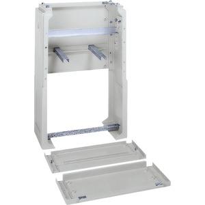 Sockel Polyester für Gehsteigverteiler PLD85 900x465x310mm RAL7035