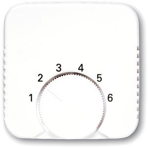 Zentralscheibe für Temperaturregler weiß
