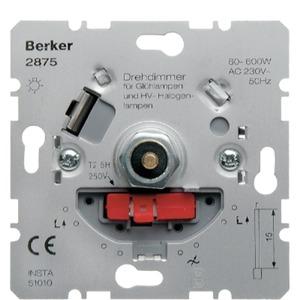 Drehdimmer mit Softrastung Hauselektronik 60-600 W