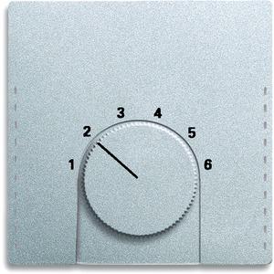 Zentralscheibe Future für Raumtemperaturregler 1094 U 1097 U alusilber