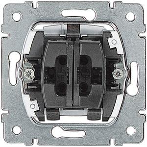 Einsatz Wippschalter 1-polig/-Taster 1-polig