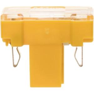 Glühaggregat mit N-Klemme Modul Einsatz gelb