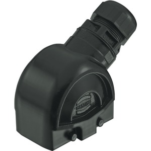 Tüllengehäuse mit integrierter Kabelverschraubung 10 B Han-Eco M32 1x