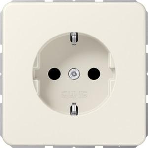 SCHUKO Steckdose 16 A 250 V mit Federklemmen 2,5 mm weiß