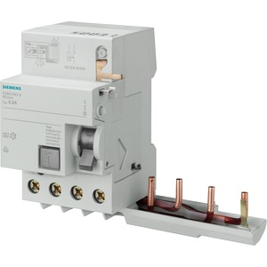 Fehlerstromsschutzschalter / FI - Block 4p Typ A selektiv 63 A 1000 mA für 5SY