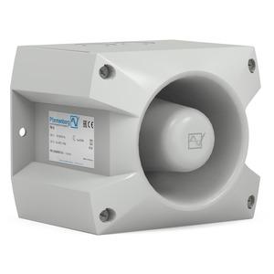 PATROL Schallgeber 105 dB(A) im grauen Gehäuse für 230 V AC
