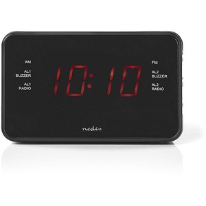 """Radiowecker digital 0,9""""-LED CLAR002BK"""